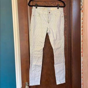 Anthropologie Pilcro striped jean size 28